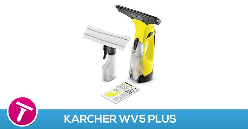 J'ai testé le Karcher WV5 Plus
