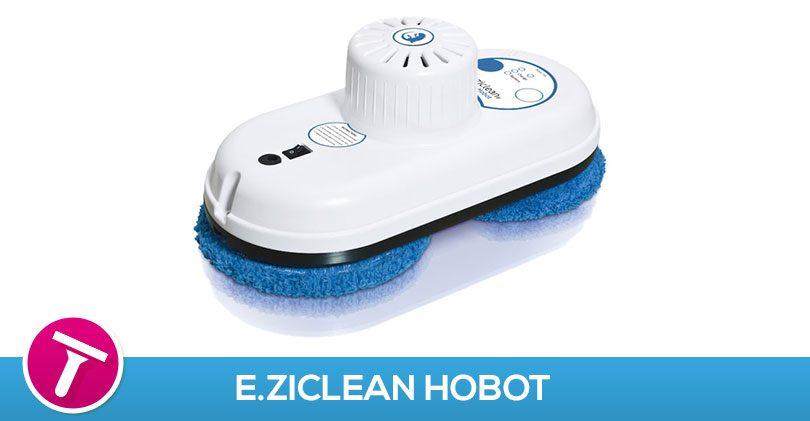 Comment, sans bouger de ma chaise, je lave mes vitrines avec E.ziclean Hobot V1