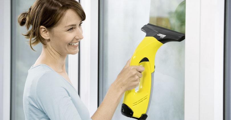 Je lave mes vitres depuis plusieurs années avec le karcherWV 50 Plus