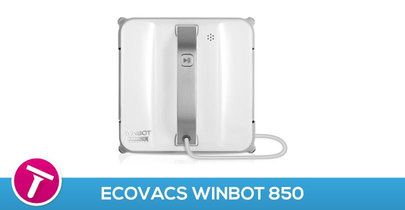 ecovacs winbot 850 test avis robot lave vitre silencieux. Black Bedroom Furniture Sets. Home Design Ideas